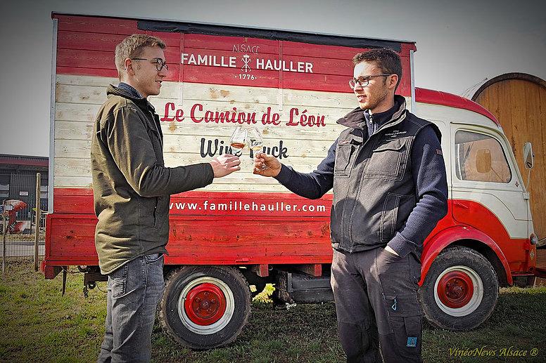 Premier Wine Truck alsacien