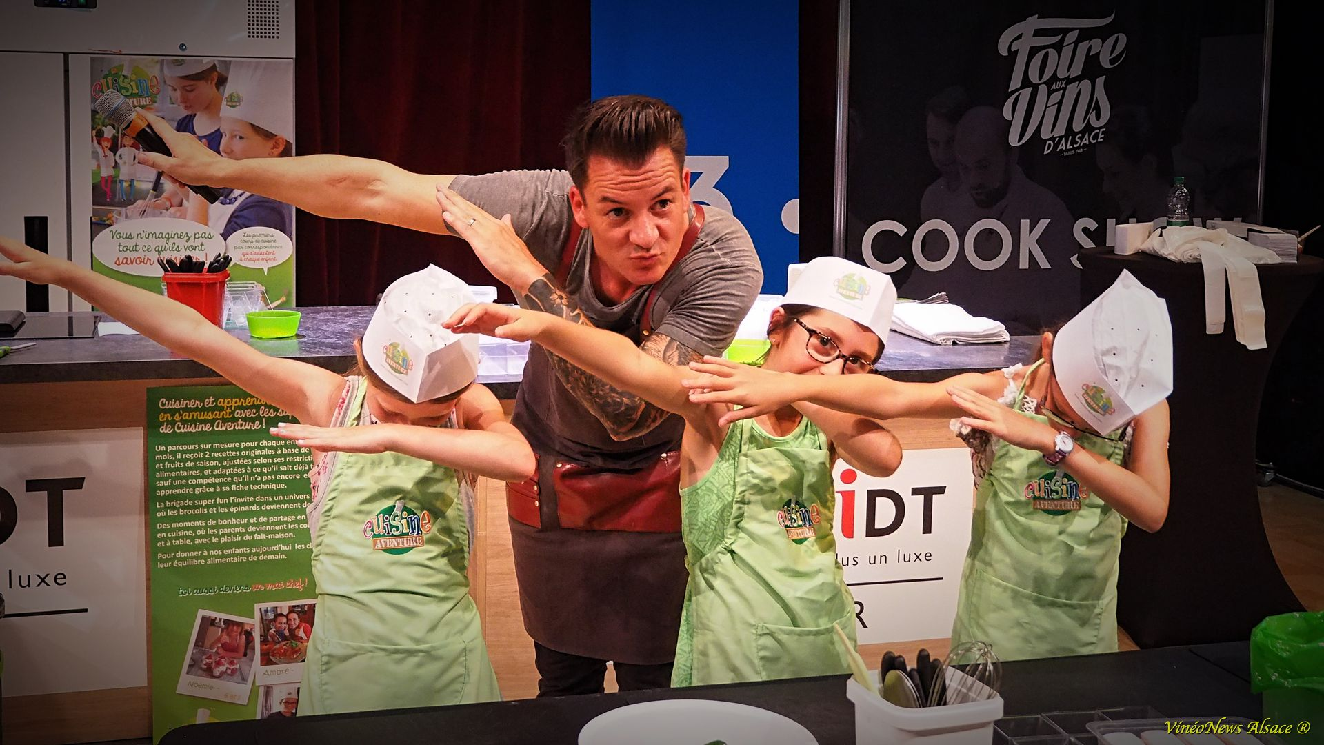 CookShow en mode chérubin