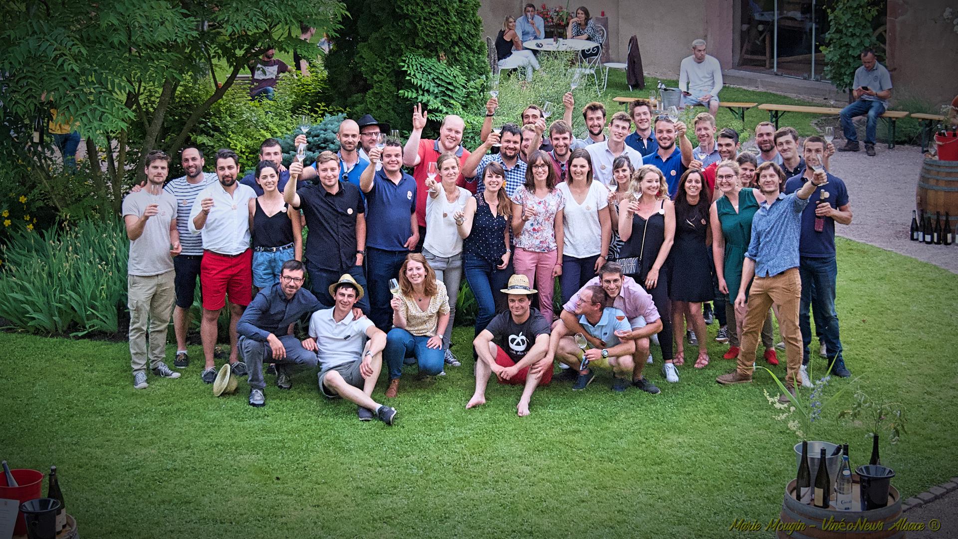 Les Jeunes Vignerons d'Alsace à l'assaut de Wine Paris