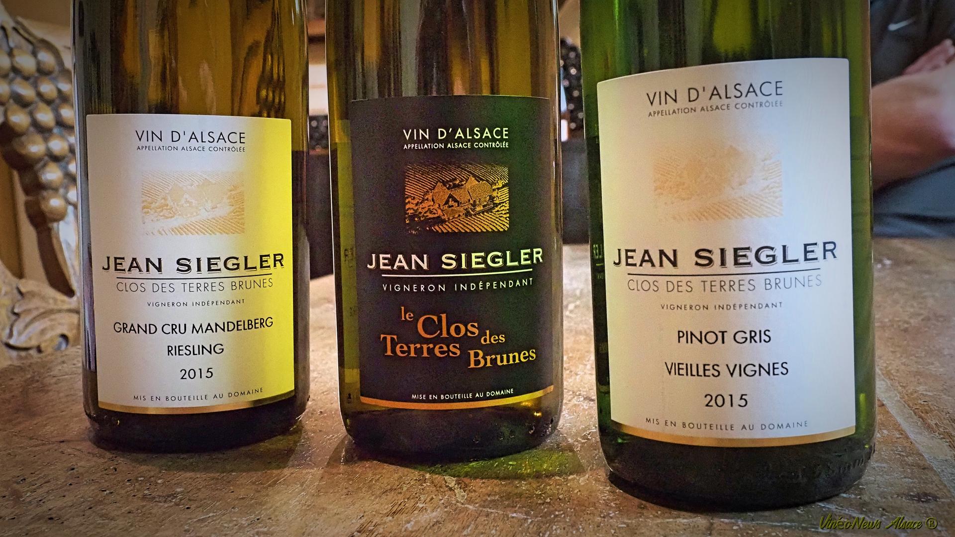 3V1D… le Domaine Jean Siegler – Clos des Terres Brunes