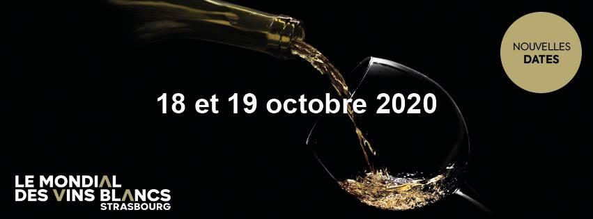 Le Mondial des Vins Blancs… en Octobre 2020