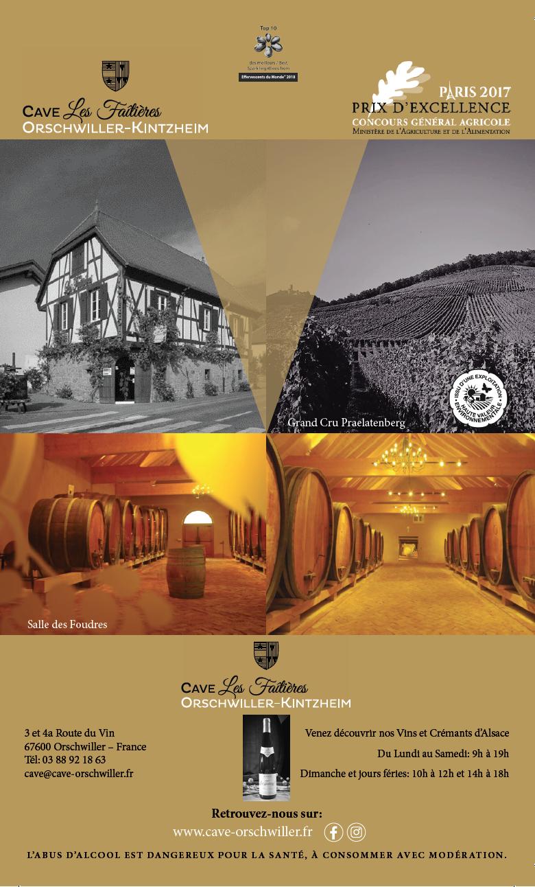 Cave Les Faîtières d'Orschwiller-Kintzheim… Union de Talents