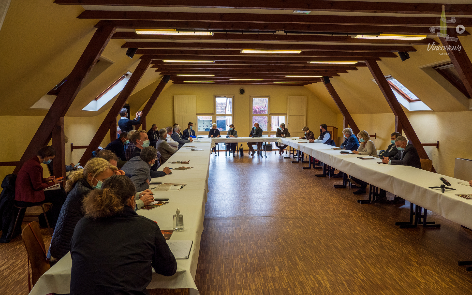 Attachement et solidarité à la filière viticole alsacienne