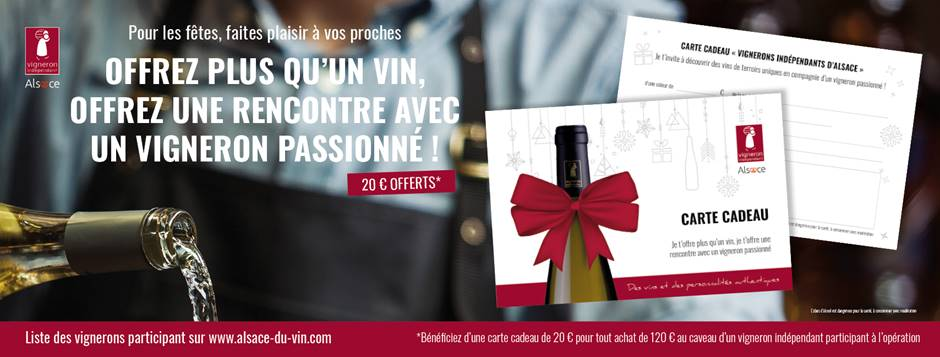 Offrez plus qu'un vin, offrez une rencontre avec un vigneron passionné !