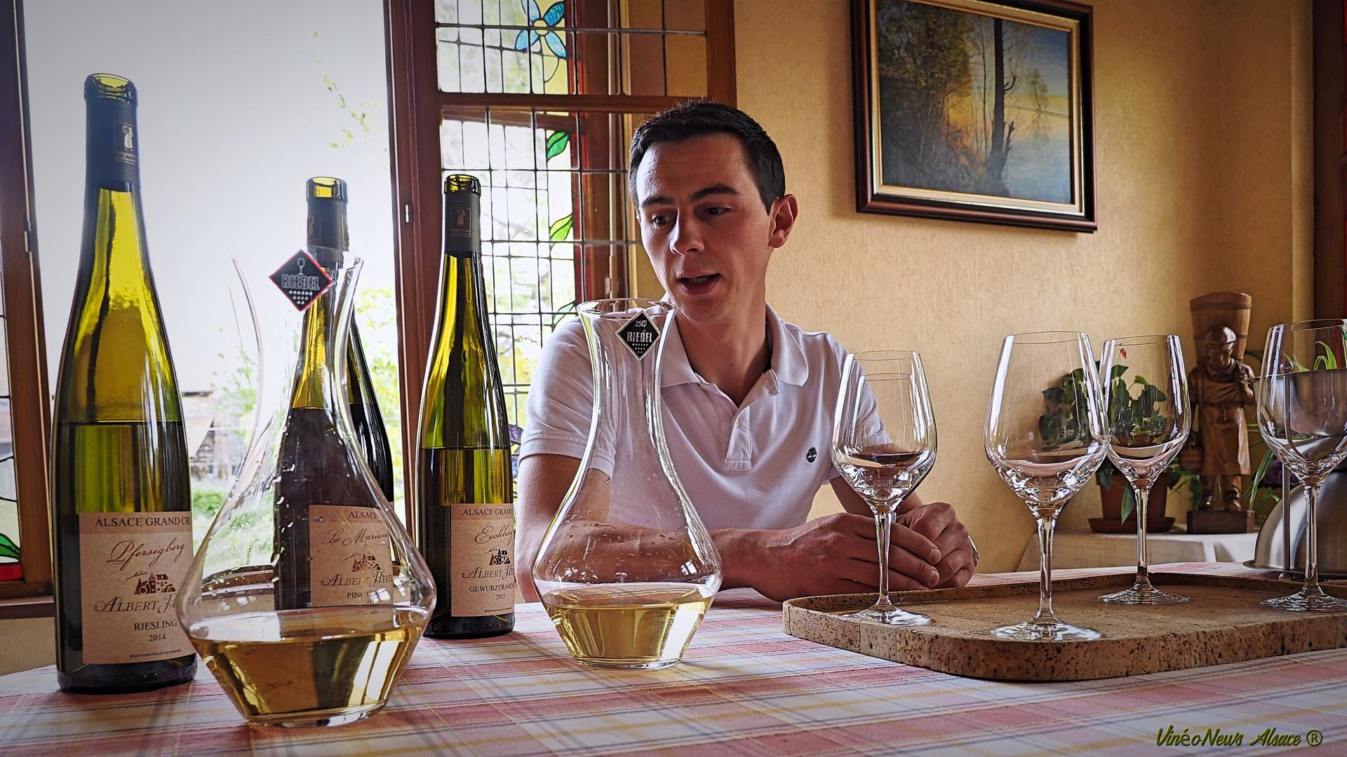 Les Grands Pinots Noirs d'Eguisheim… Domaine Albert Hertz