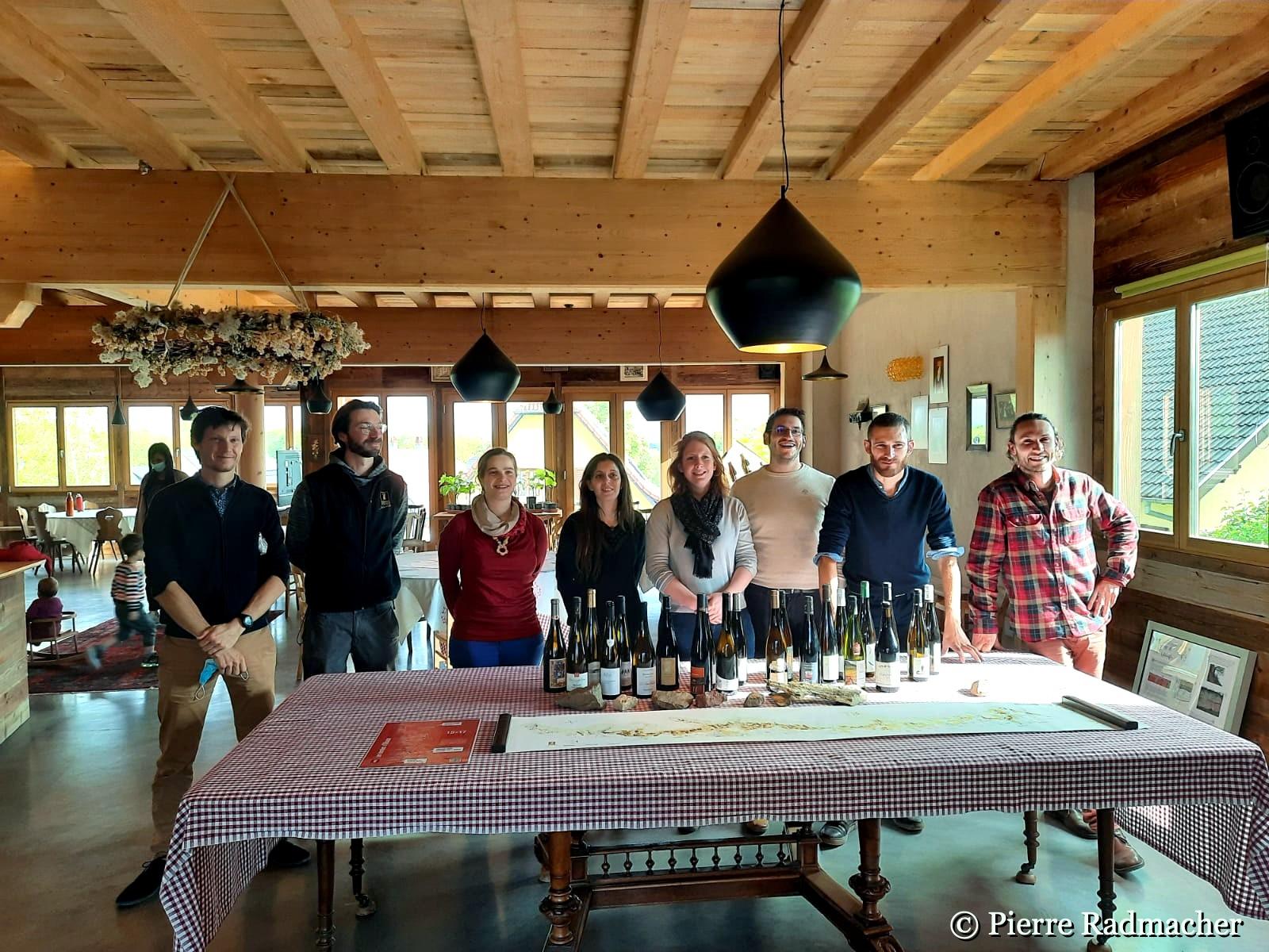 Les terroirs alsaciens du nord au sud présentés par les jeunes vignerons