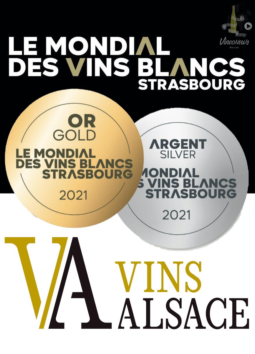 Le très beau rebond des Vins d'Alsace au Mondial des Vins Blancs