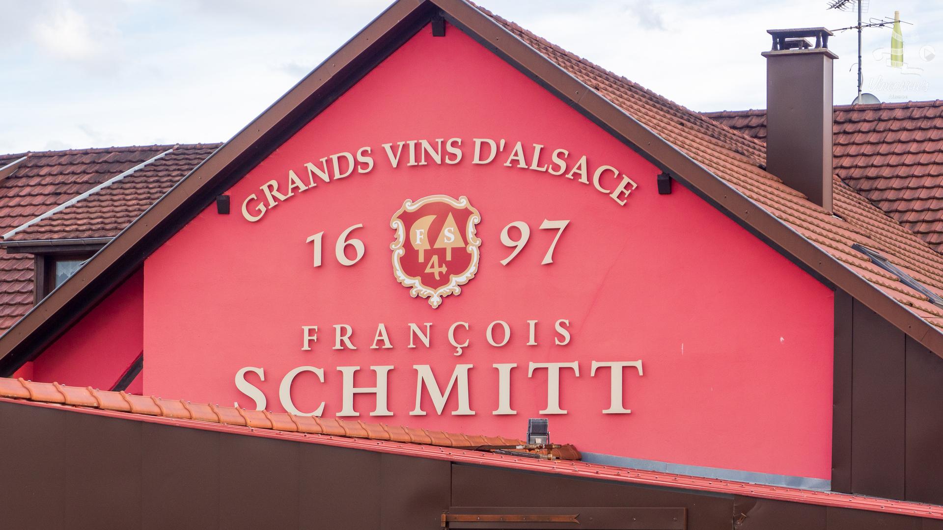 Visite au Domaine François Schmitt à Orschwihr